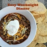 Taco Bowls – Easy Weeknight Dinner