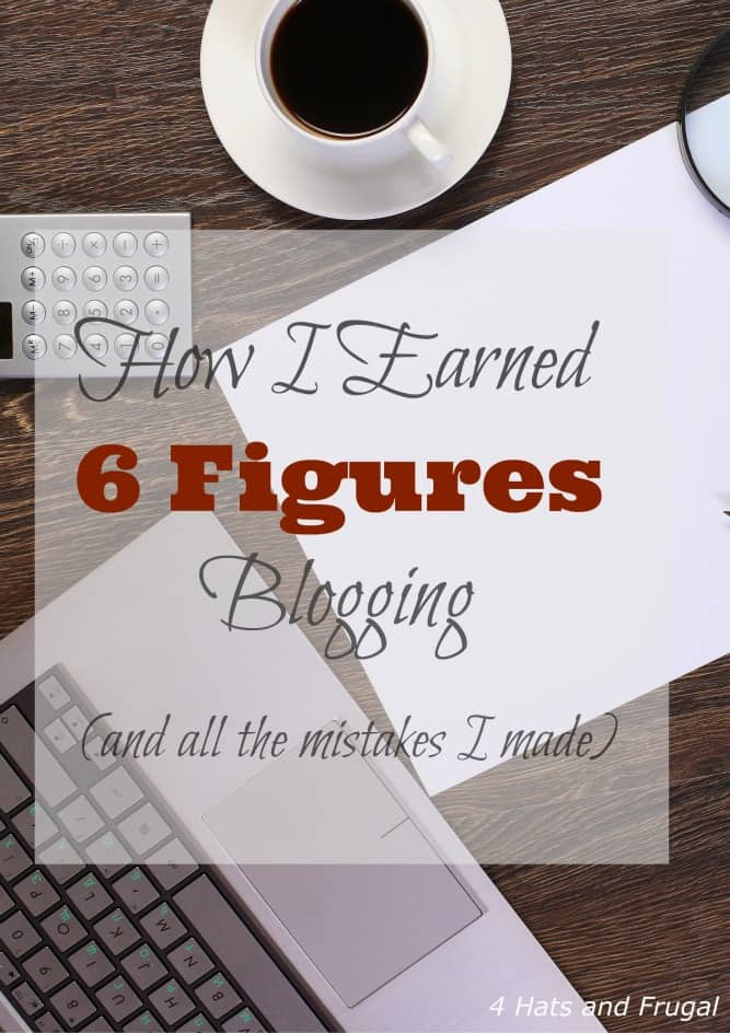 Yes, you can earn six figures blogging. Yes, there may be some mistake made. In this post, I share the mistakes I made (so you won't make them too).