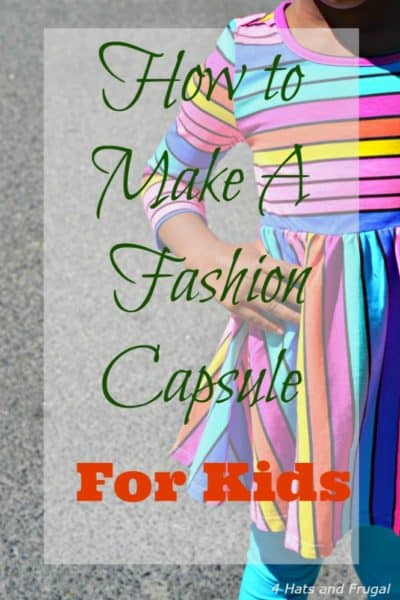 Making a fashion capsule for kids is way easier than you think! This post shares some genius hacks, including how to prepare for growth spurts.