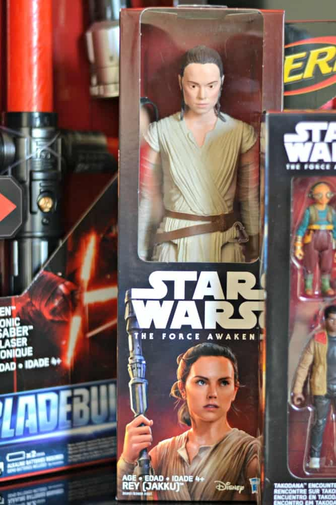 Star Wars The Force Awakens Rey toy