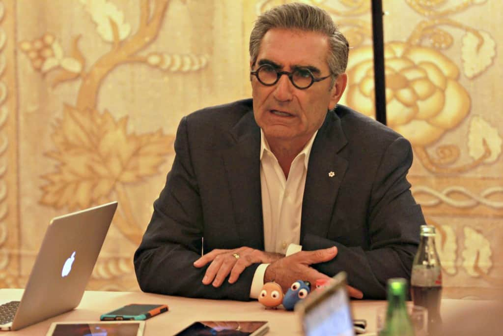 Exclusive interview with Finding Dory's Eugene Levy, who plays Charlie in the film.