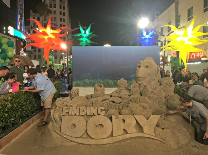 Finding Dory Sand Castle