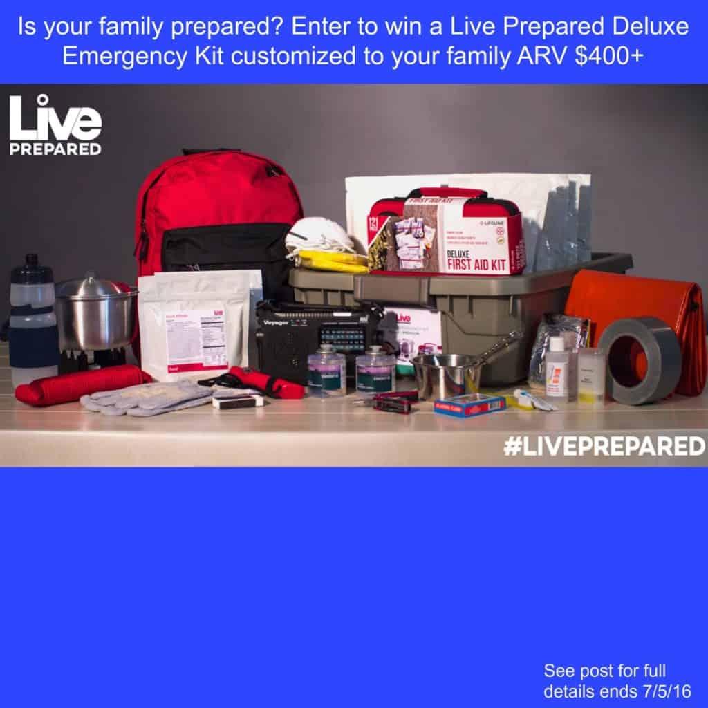 Live Prepared Kit Giveaway