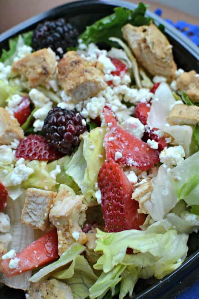 Wendy's Summer Berry Chicken Salad 3