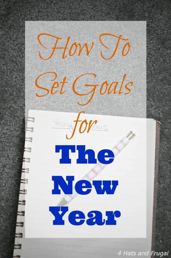 How To Set Goals For The New Year