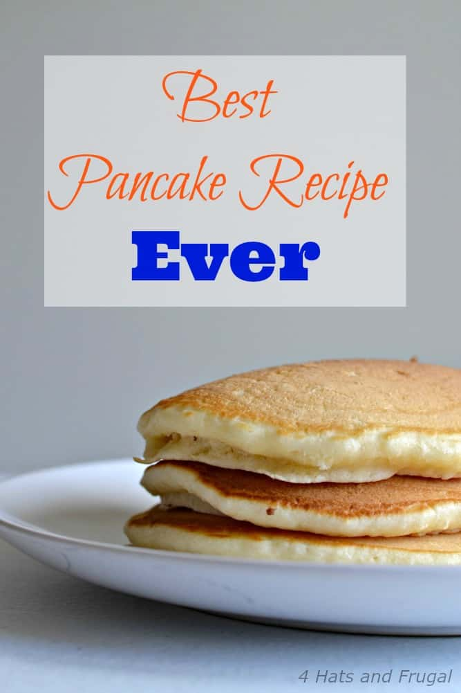 The title says it all: this is the best pancakes recipe ever. Period.