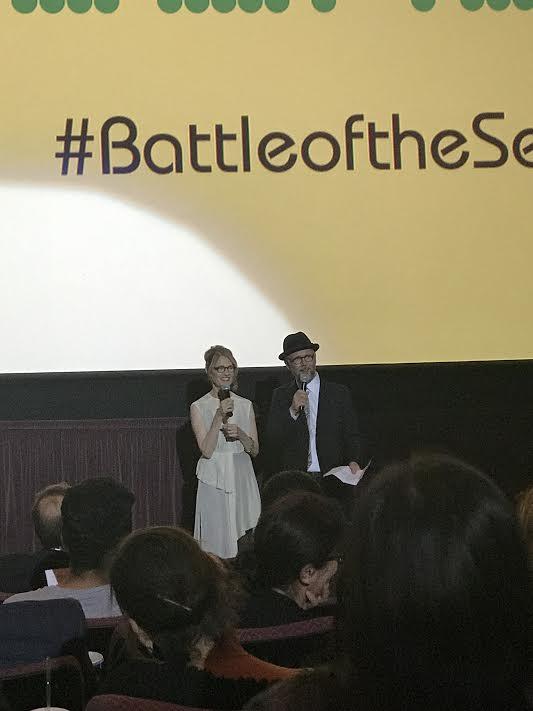 Battle of the Sexes premiere