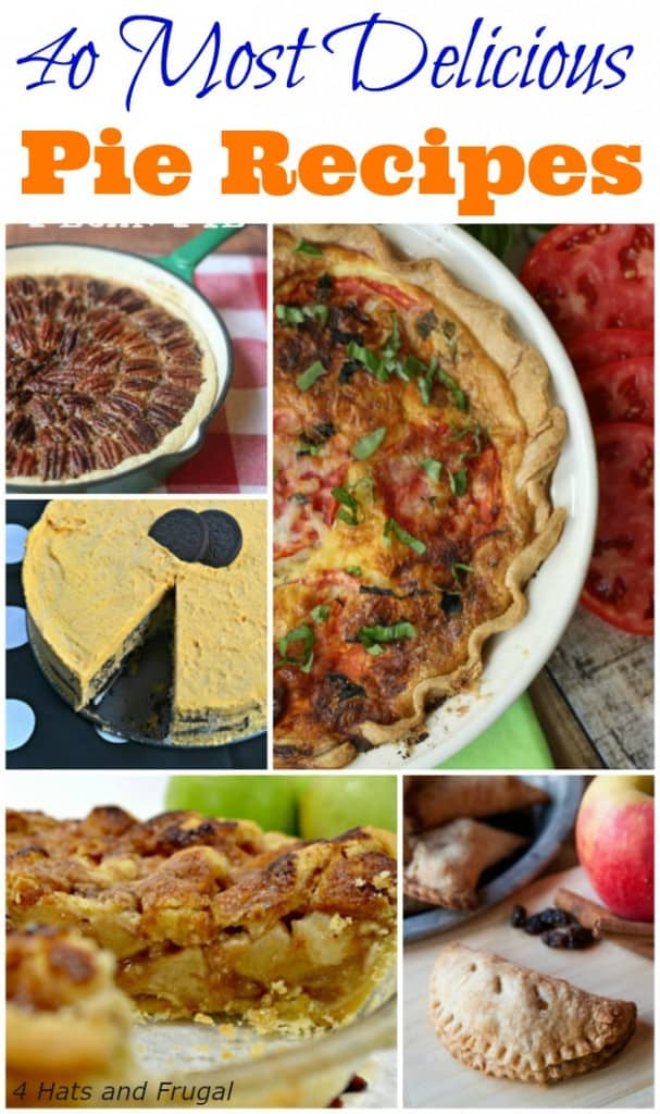 Looking for a new pie to make this holiday season? These 4o most delicious pies need to be at the top of your list!