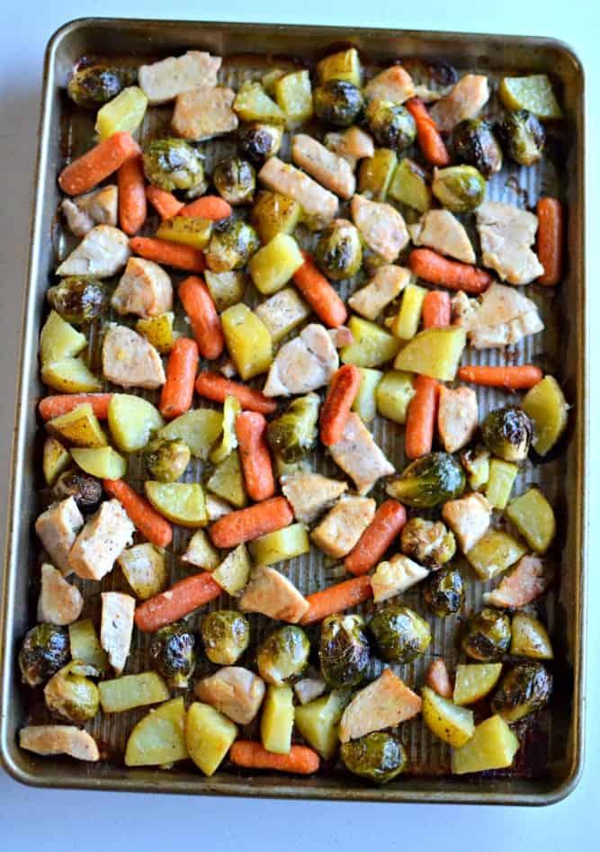 Easy Chicken Sheet Pan Dinner copy