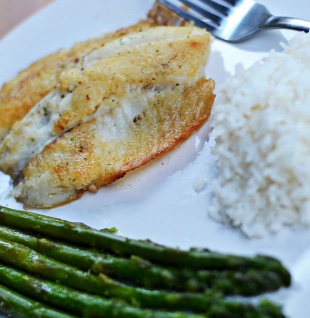 Garlic Butter Fish