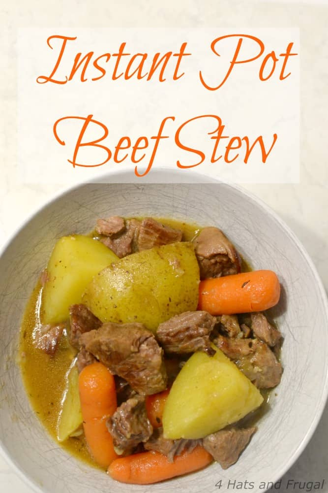 Looking for a simple Instant Pot Beef Stew recipe? We've got you covered!