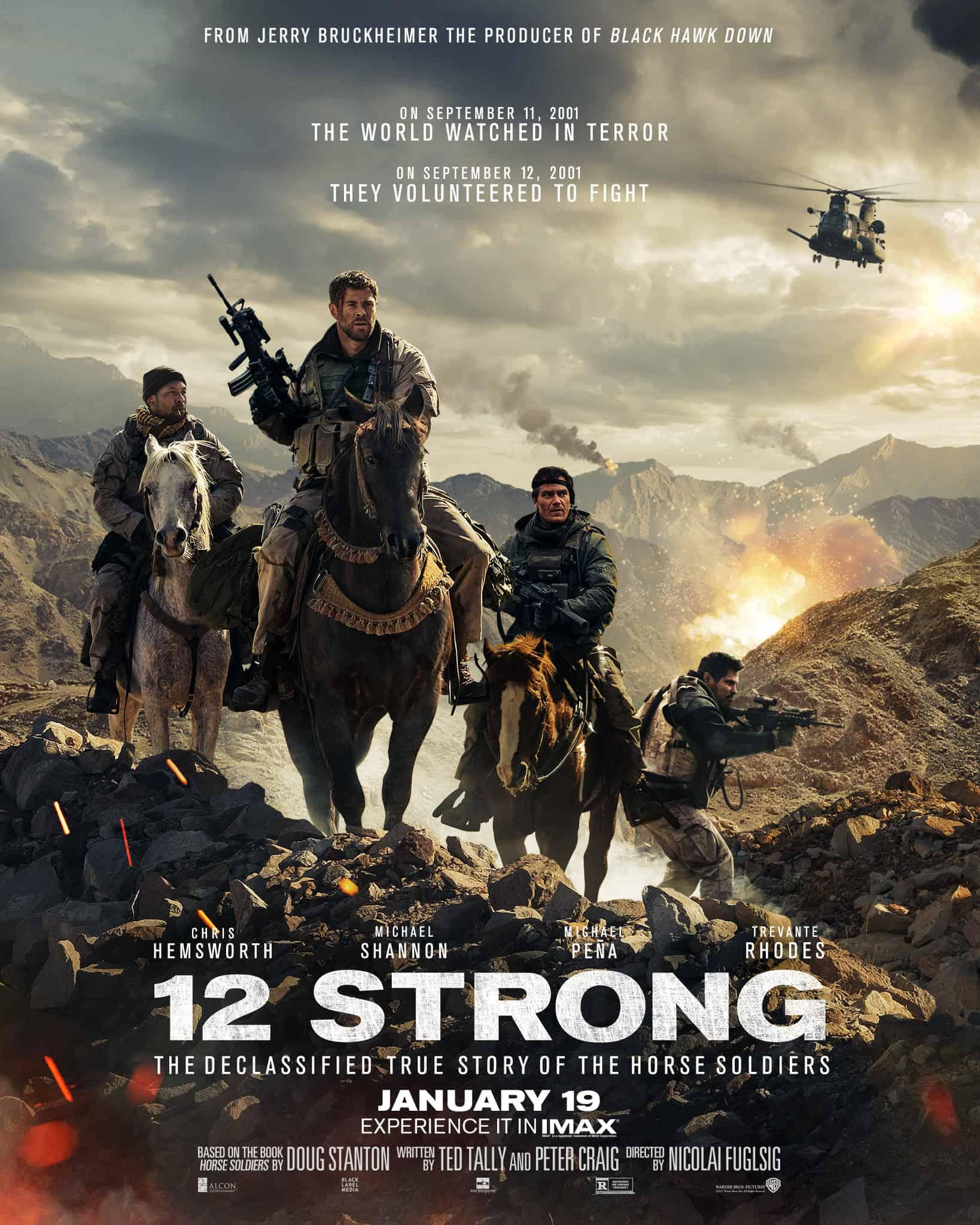 12 Strong Movie - A Heart Of A Hero   A Twitter Party -8121