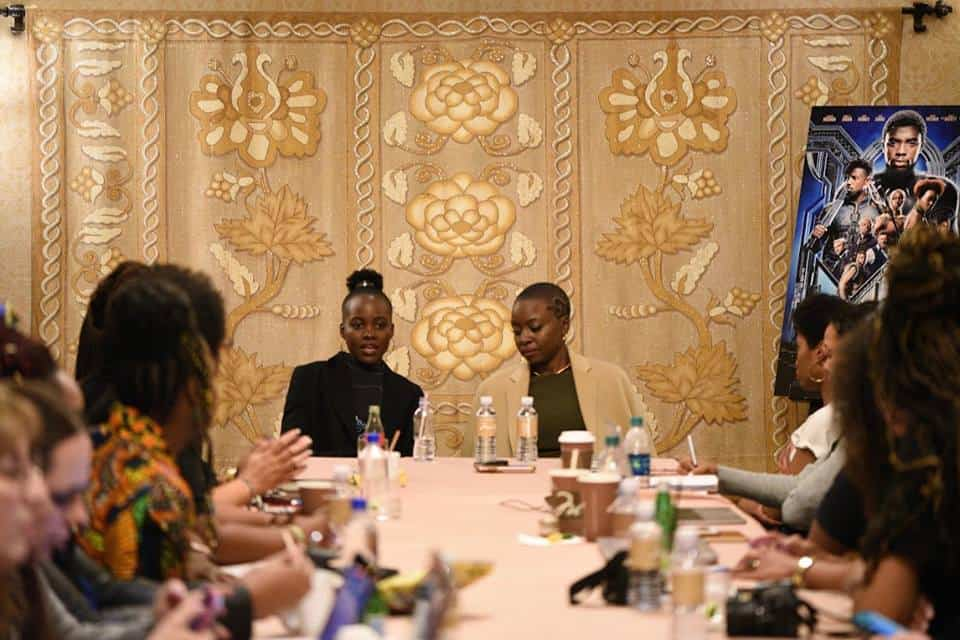 Exclusive interview with stars of Black Panther Lupita Nyong'o and Danai Gurira