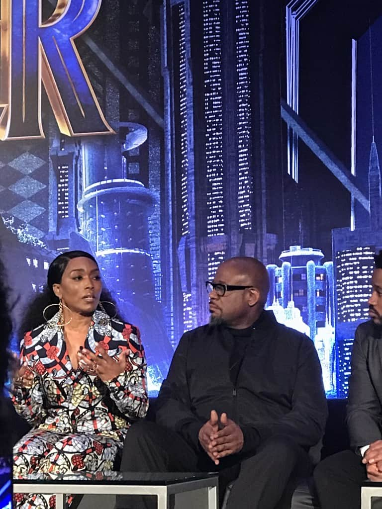 Black Panther Press Conference 2018 2