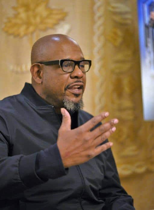 An exclusive interview with Black Panther star Forest Whitaker