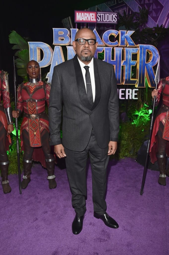Fun on the Black Panther Red Carpet