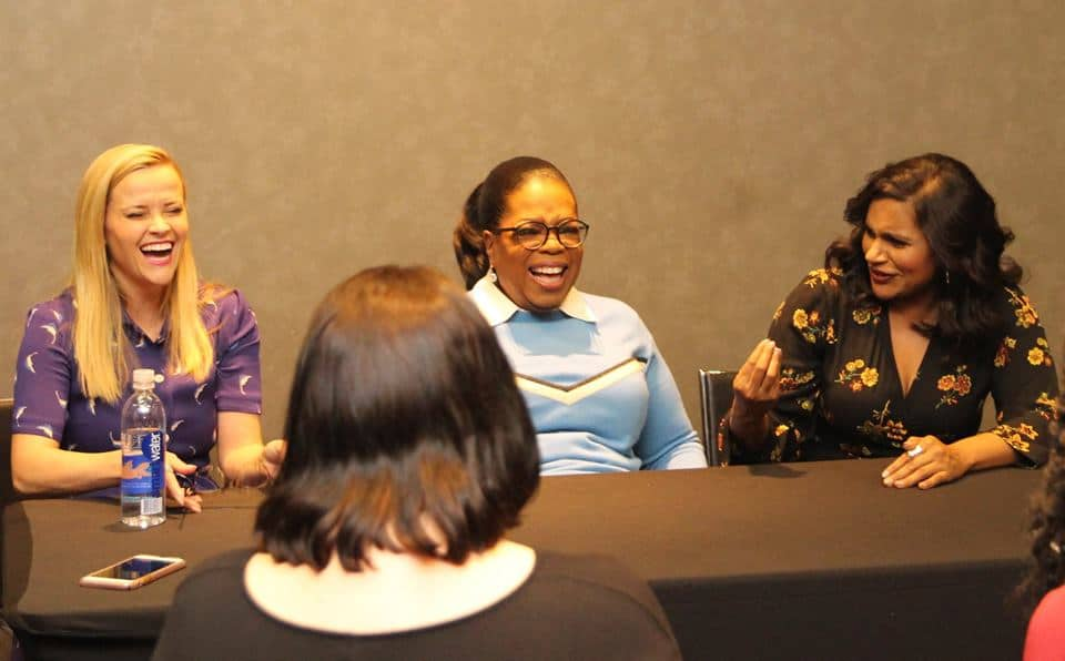 The Mrs. of A Wrinkle In Time - Oprah, Mindy and Reese