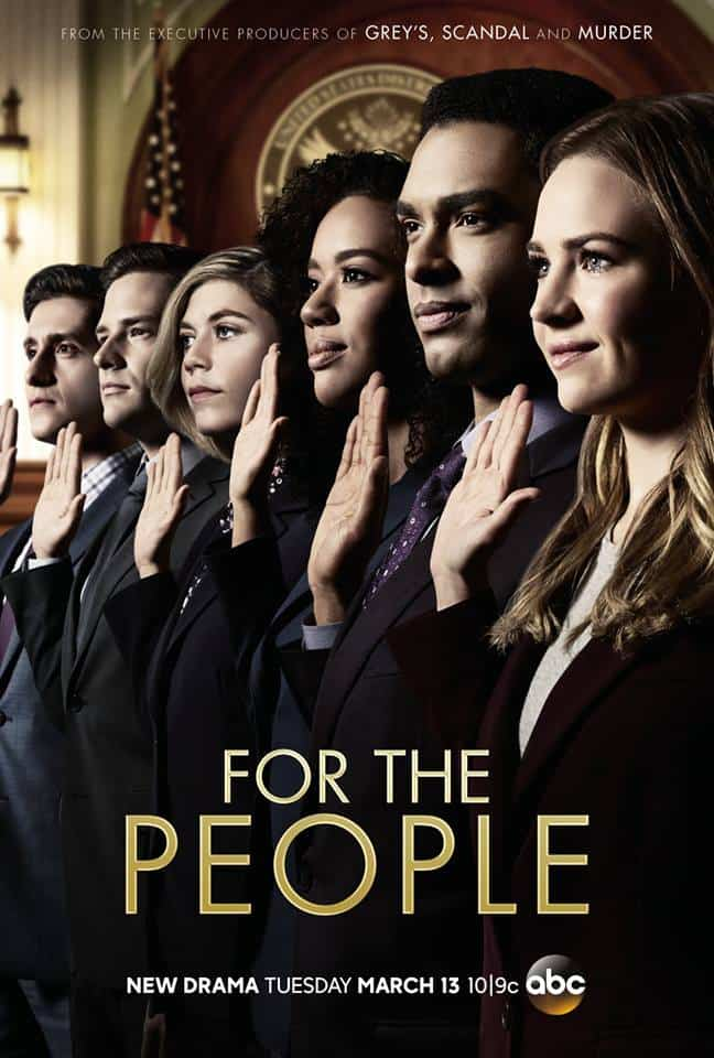 Interviewing The Cast Of ABC's For The People promo