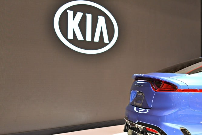 Kia Stinger Cleveland Auto Show