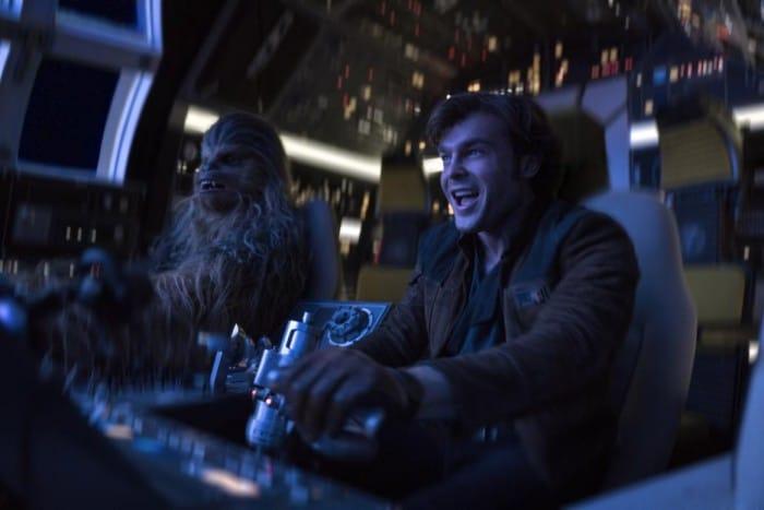 Alden Ehrenreich Han Solo Millennium Falcon
