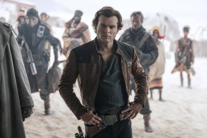 Alden Ehrenreich Han Solo hero