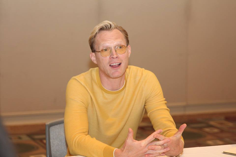 Paul Bettany of SOLO: A Star Wars Story