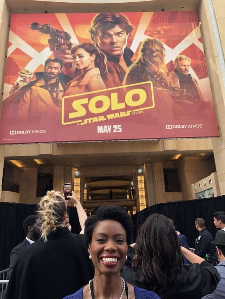 SOLO A Star Wars Story premiere