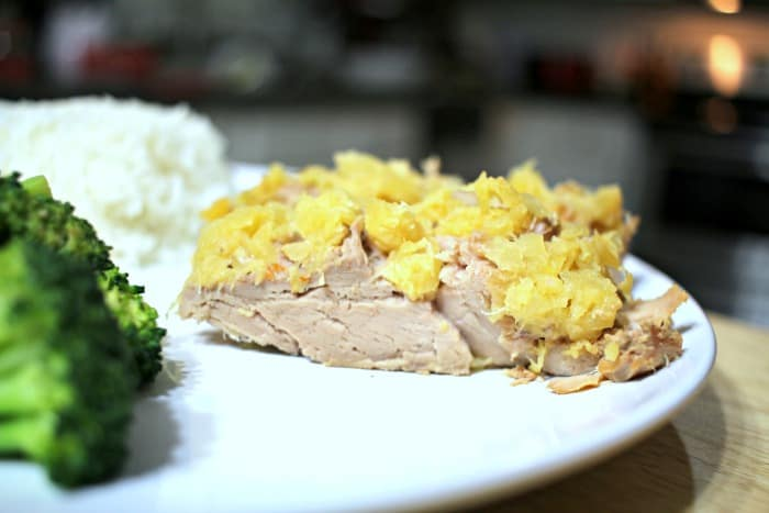 Slow Cooker Pineapple Pork copy
