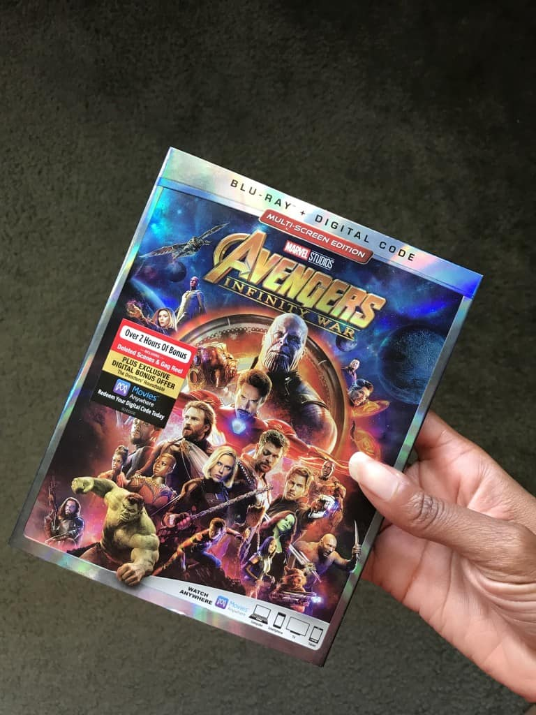 Avengers Infnity War BluRay