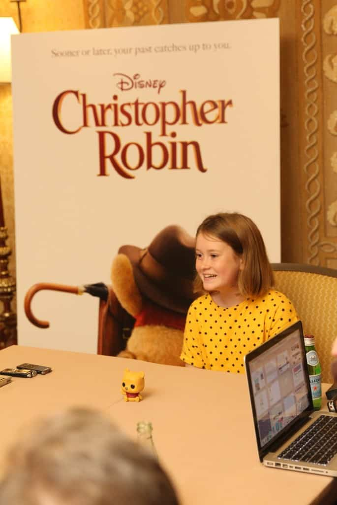 Bronte Carmichael Interview Christopher Robin