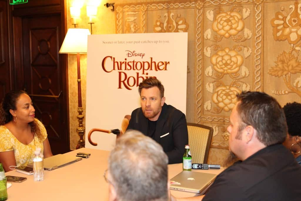 Exclusive Interview Ewan McGregor Christopher Robin