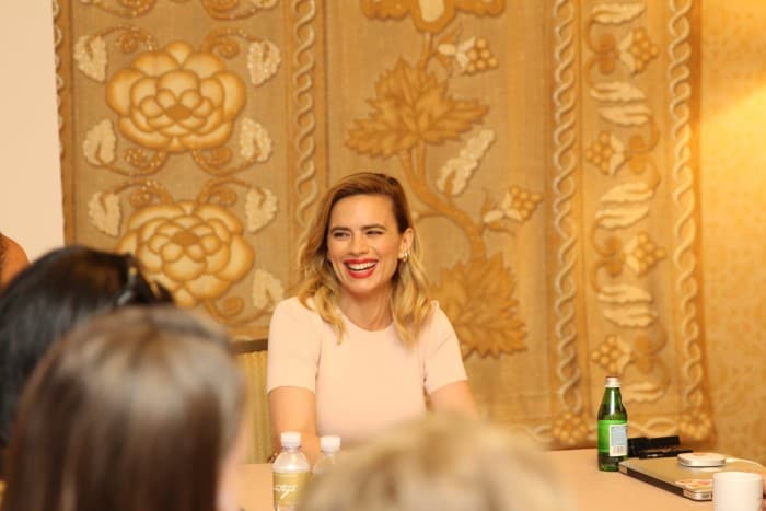 Hayley Atwell Interview Christopher Robin movie