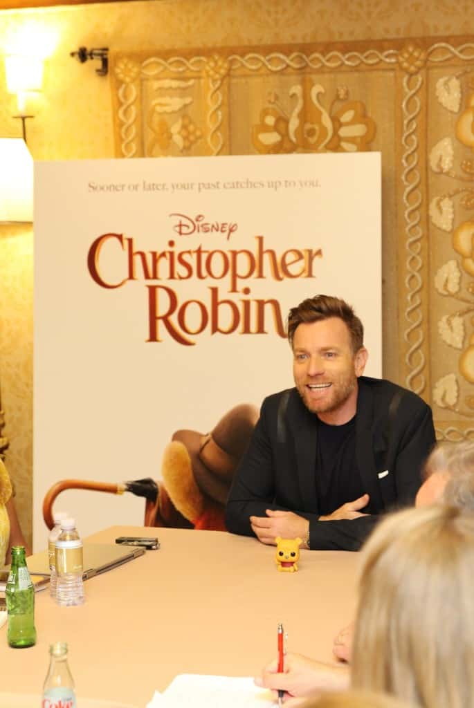 Interview Ewan McGregor Christopher Robin