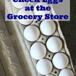 How To Check Eggs At The Grocery Store