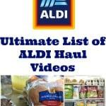 Ultimate List of ALDI Haul Videos