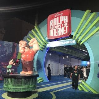 Ralph Breaks The Internet red carpet