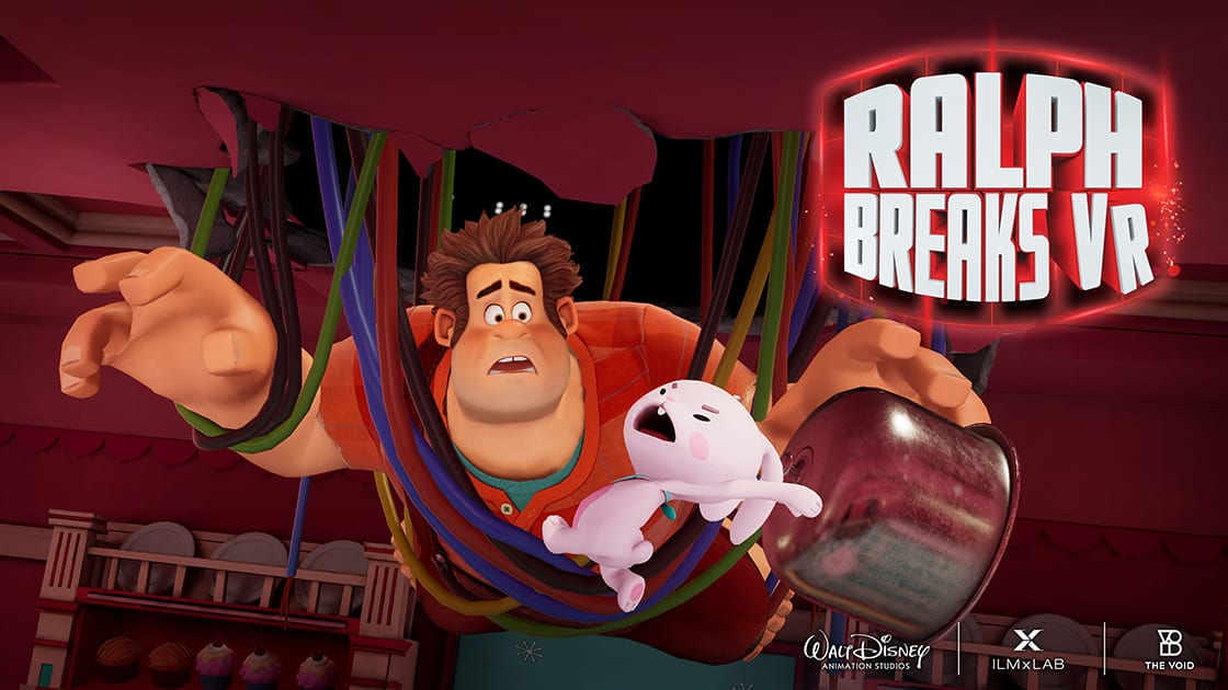 Ralph Breaks The Internet hits theaters on November 21st, and so does Ralph Breaks VR, an interactive experience you'll never forget!