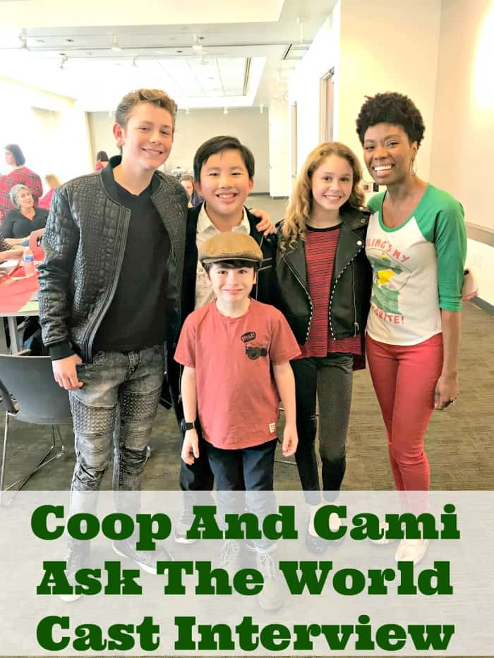 Sharing Christmas Cast.Coop And Cami Ask The World Christmas Special Chatting