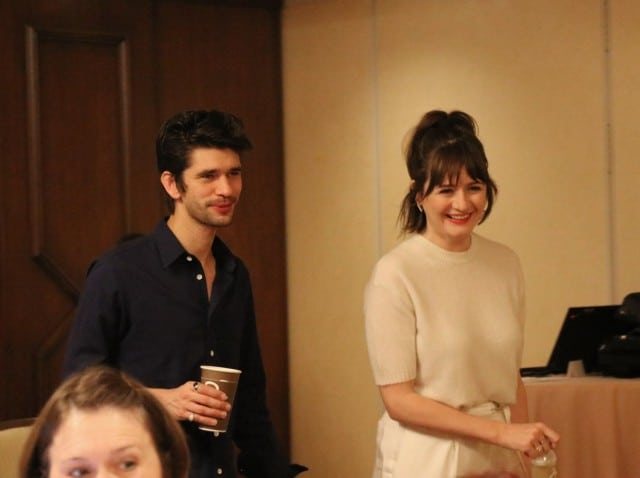 Exclusive Interview Ben Whishaw Emily Mortimer