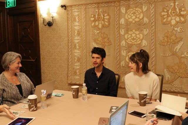 Exclusive Interview with Emily Mortimer and Ben Whishaw