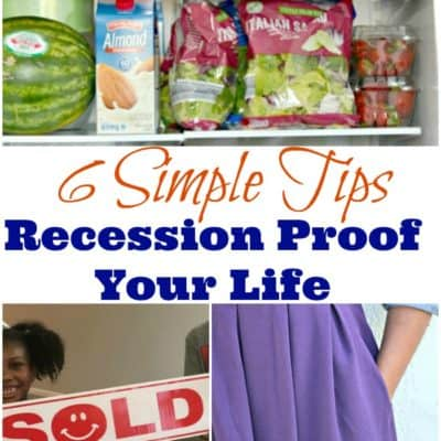 According to recent news, the US due for a 2020 or 2019 recession. But, don't panic! Here are 6 tips to recession proof your life, right now.