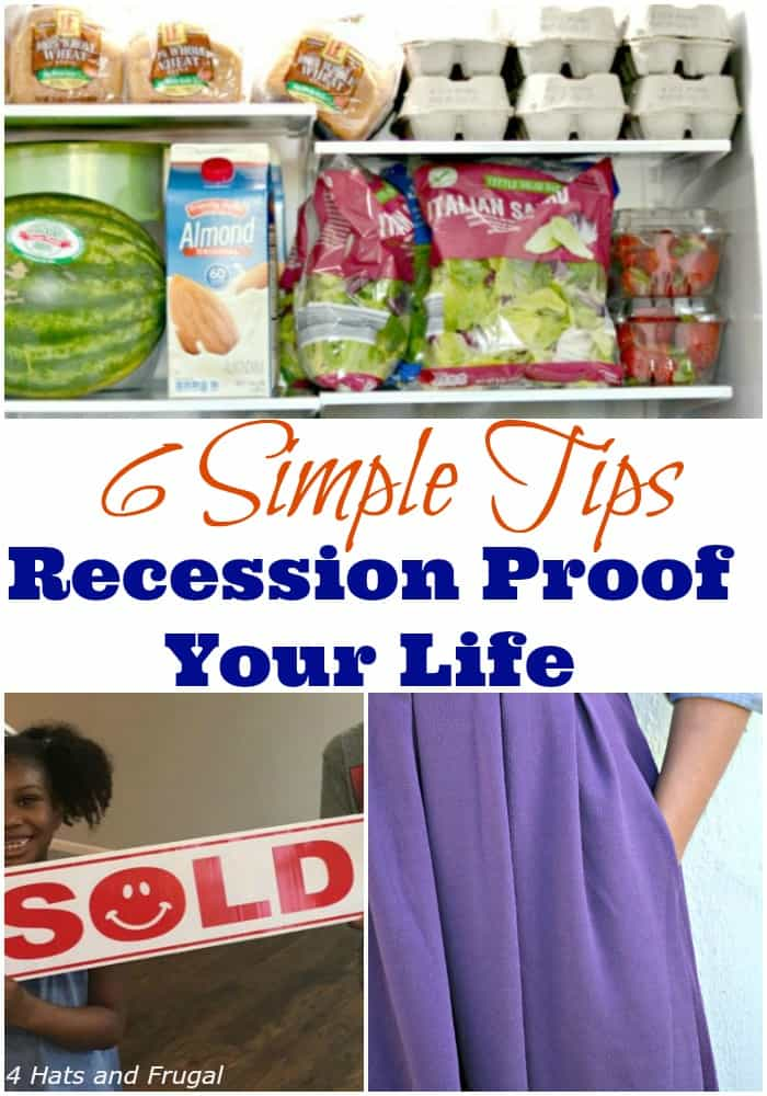 According to recent news, the US is due for a 2020 or 2019 recession. But, don't panic! Here are 6 tips to recession proof your life, right now.