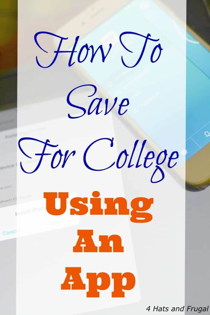 Did you know there is an app that parents can use when saving for college? This article shares what it is, and the easy way to use it.