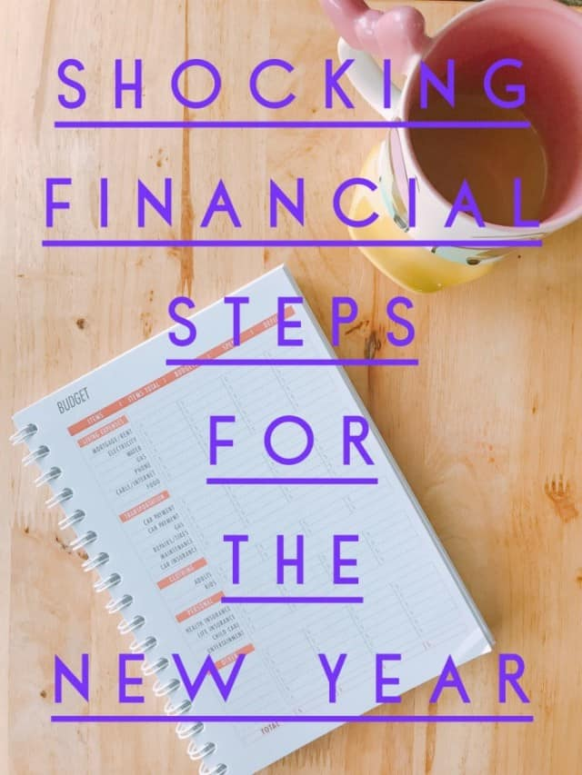 Shocking Financial Steps This Year