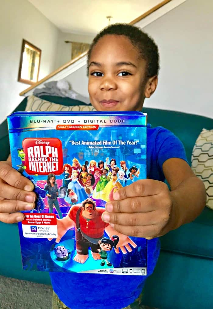 Ralph Breaks The Internet on Blu-ray is finally here! In this post, this shares how excited her 4 year old is about it, and all the Blu-ray bonus features.