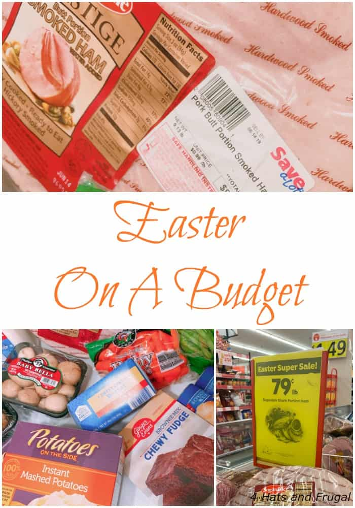 Need to shop for Easter dinner at the last minute? This post shares the quickest way to do Easter on a budget, and still eat well!