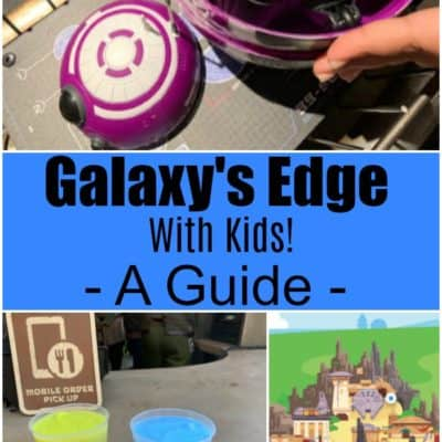 Star Wars Galaxy's Edge is now open! This post is your ultimate Galaxy's Edge with kids guide, including where to rest, use the bathroom, and eat.