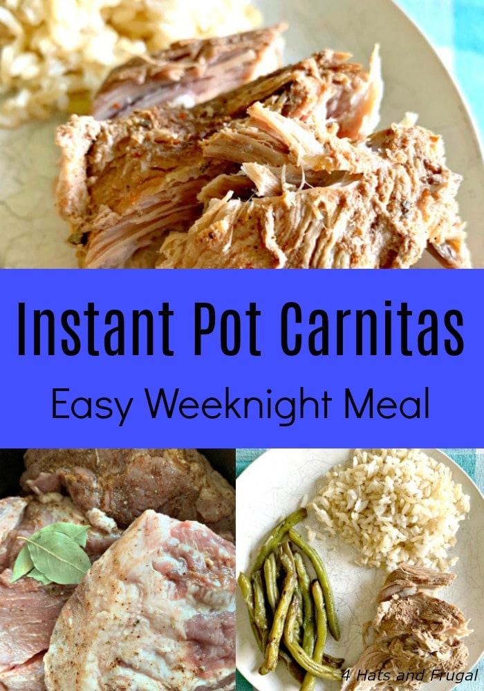 Need a cheap and easy meal for a large family? Instant Pot carnitas is a simple recipe you can make on a busy weeknight or weekend.