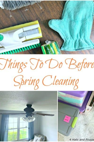 Ready to spring clean like a champ? Before you dive in, tackle these things to do before spring cleaning.
