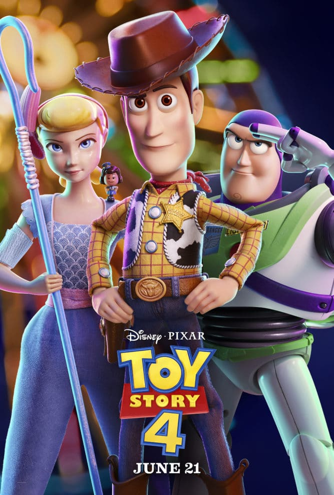 toy story 4 trailer list